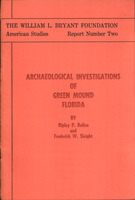 Archaeological investigations of Green Mound, Florida