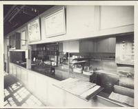 Pullman car: kitchen