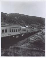 Union Pacific railroad's Domeliner