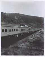 Union Pacific railroad's Domeliner