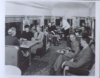 Pullman car: bar and lounge