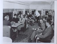 Pullman car: bar and lounge