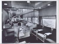 Pullman car: coffee shop-lounge