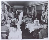 Pullman car: all-electric diners