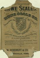 Howe Scales Co. Tradecard