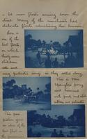 Letter with applied photographs describing Daytona (12)