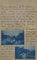 Letter with applied photographs describing Daytona (14)