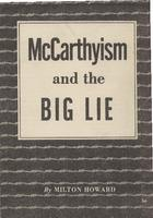 McCarthyism and the big lie