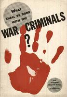 What shall be done with the war criminals?