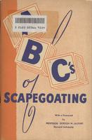 ABC's of scapegoating: With a foreword