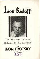 Leon Sedoff, son - friend - fighter