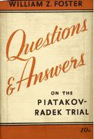 Questions and answers on the Piatakov-Radek trial.