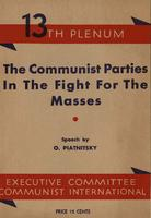 The Communist parties in the fight for the masses