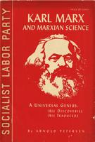 Karl Marx and Marxian science