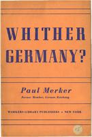 Whither Germany?