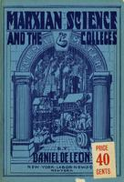 Marxian science and the colleges
