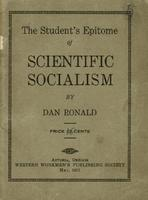 The student's epitome of scientific socialism