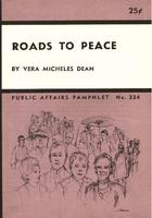 Roads to peace