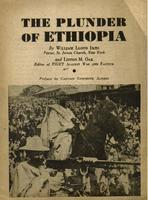 The plunder of Ethiopia