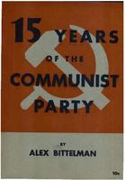 Fifteen years of the Communist Party