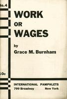 Work or wages