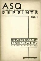 Towards socialist reorientation