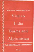 Report to the Supreme Soviet on the trip to India, Burma and Afghanistan
