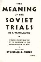 The meaning of the Soviet trials