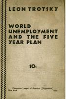 World unemployment and the five year plan