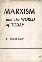 Marxism and the world today