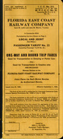 Local and joint (rail-motor) passenger tariff no. 23 ...