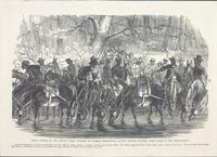 """""""Traveling in state""""- General Burnside on the road from New Berne to Beaufort, N. C."""
