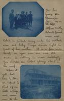 Letter with applied photographs describing Daytona (20)