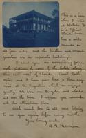 Letter with applied photographs describing Daytona (24)