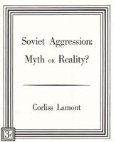Soviet aggression: Myth or reality?