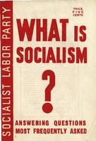 What is socialism?: Answering questions most frequently asked