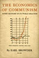The economics of communism: The Soviet economy in its world relation