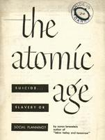 The atomic age : suicide, slavery or socialism?