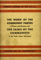 work of the communist parties of France and Germany
