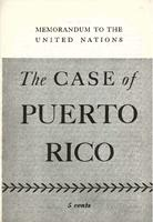 The case of Puerto Rico: Memorandum to the United Nations