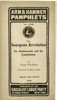 The bourgeois revolution: Its attainments and its limitations