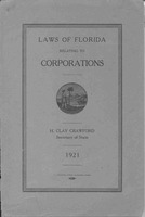 Laws of Florida relating to corporations